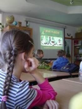 Prezentacja w sali wykładowej