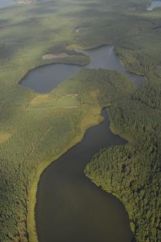 Jeziora: Skrzynka i Mielnica, Fot. Wiesław Stępień