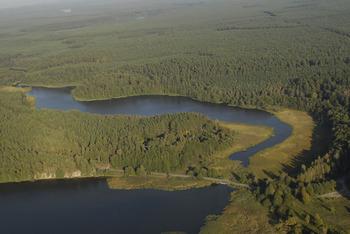 Jezioro Mielnica, Fot. Wiesław Stępień