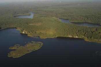 Jezioro Charzykowskie, Fot. Wiesław Stępień