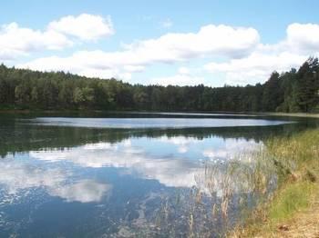 Jezioro Gacno Wielkie fot. W. Błoniarz