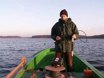 Monitoring hydrologiczny fot. W. Błoniarz
