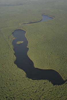 Jeziora: Gacno Wielkie i Gacno Małe, Fot. Wiesław Stępień