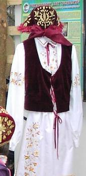 Strój borowiacki fot. B. Grabowska