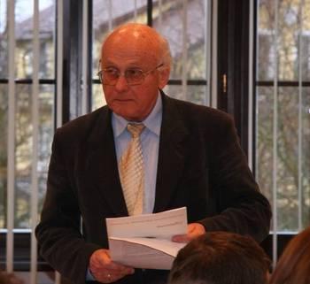 Przewodniczący Rady Naukowej PNBT prof. dr. hab. Kazimierz Tobolski