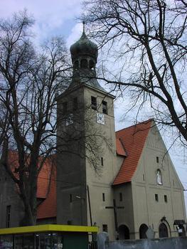 Kościół w Swornegaciach (fot. Beata Grabowska)