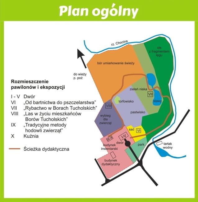 Centrum Edukacji Przyrodniczej PNBT – wizualizacja
