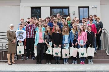 Uczennica Gimnazjum nr 3 w Chojnicach najlepsza w konkursie przyrodniczym