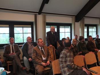 Uczestnicy spotkania mieli sporo pytań