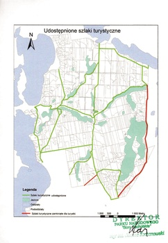Aktualnie udostępnione szlaki i ścieżki dydaktyczne w PNBT