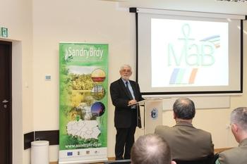Prof. Roman Soja, Przewodniczący Polskiego Komitetu Narodowego UNESCO-MAB