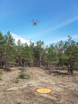 Obrazowanie termalne z niskopułpowej platformy latającej, fot. P. Wężyk