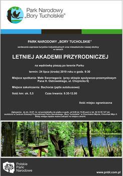 Letnia Akademia Przyrodnicza – zaproszenie na drugą wycieczkę