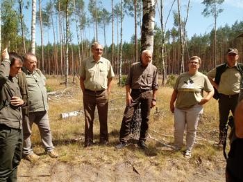Teren leśnictwa Turowiec Fot. K. Lubińska