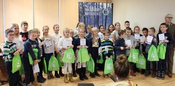 Pozostali uczestnicy II etapu XVIII Konkursu Wiedzy Przyrodniczej fot. B. Grabowska