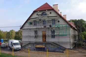 """Co nowego na placu budowy muzeum przyrodniczego Parku Narodowego """"Bory Tucholskie""""?"""