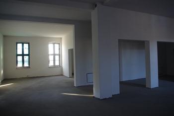 Parter – miejsce sal wystawowych