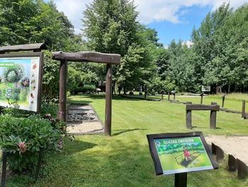 Botaniczna ścieżka dydaktyczna w Charzykowach przy ul. Długiej 33 ponownie otwarta dla zwiedzających